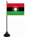 Malawi 2010-2010 Desk / Table Flag with plastic stand and base.